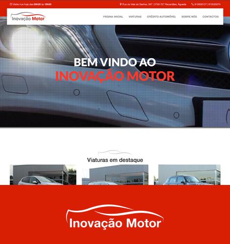 Inovação Motor - WebDesign Sybo - Aveiro